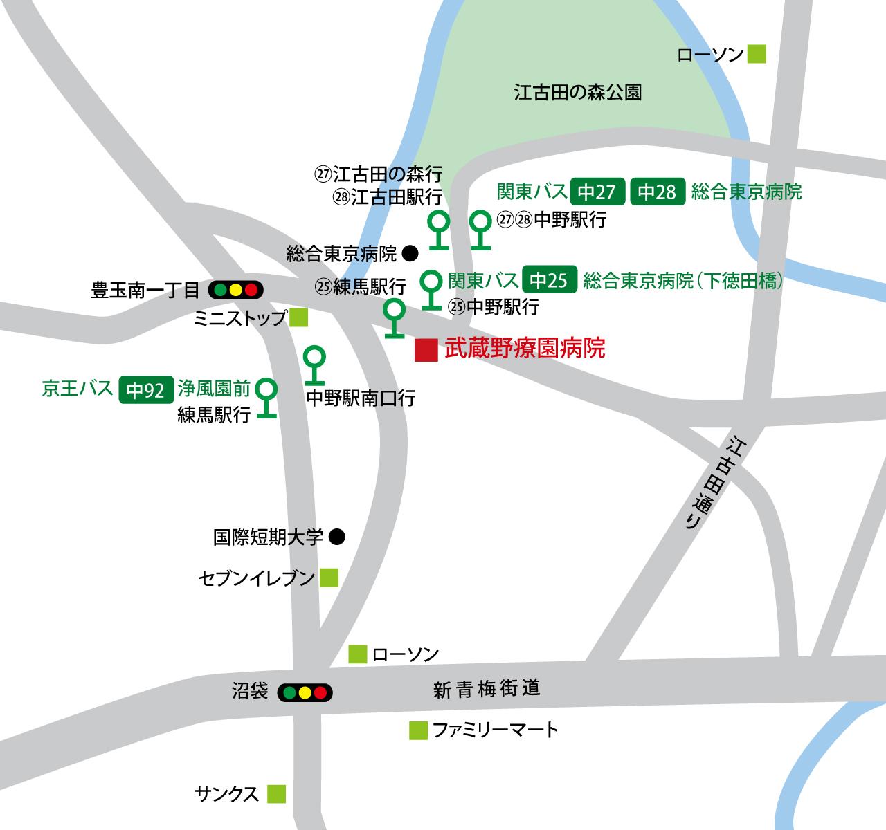 江古田 病院 中野